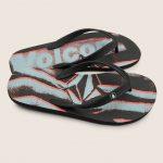 Volcom Rocker 2 Sandals – Black – 11