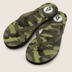 Volcom Rocking 3 Sandals – Camouflage – 8