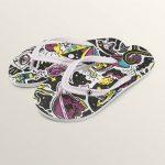 Volcom Rocking 3 Sandals – Light Purple – 8