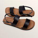 Volcom Stone Slide Sandals – Black – 10