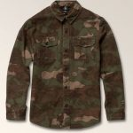 Volcom Little Boys Huckster Long Sleeve Shirt – Army – 7