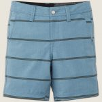 Volcom Little Boys Frickin Surf N' Turf Mix Hybrid Shorts – Wrecked Indigo – 6